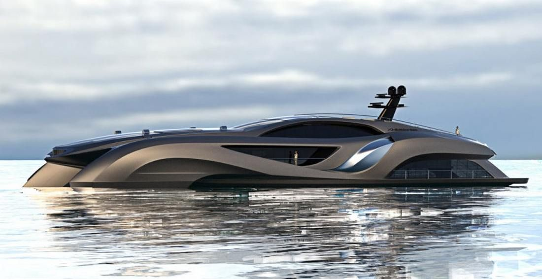 Xhibitionist Luxury Super Yacht With Images Yacht Design Boat