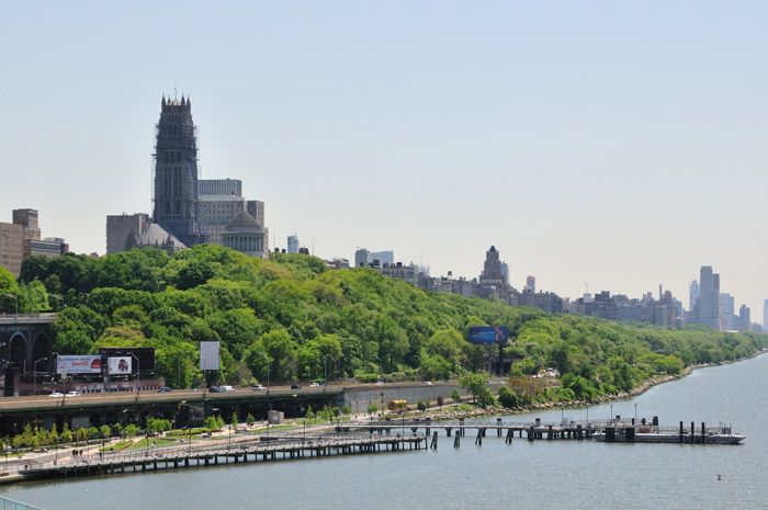 West Harlem Masterplan Waterfront Park. Et nabo samarbeid med mer enn 40 ulike grupperinger.