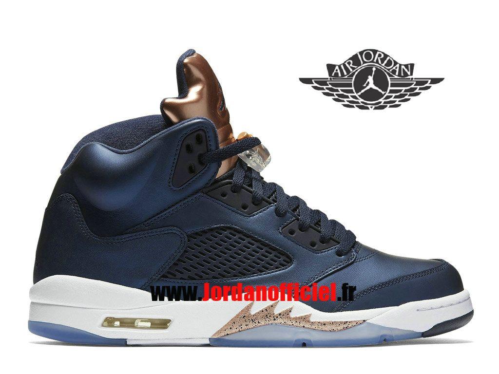 Homme Offciel Retro Chaussures Air Cher Jordan 5 Baskets Pour Pas Y76fbyg