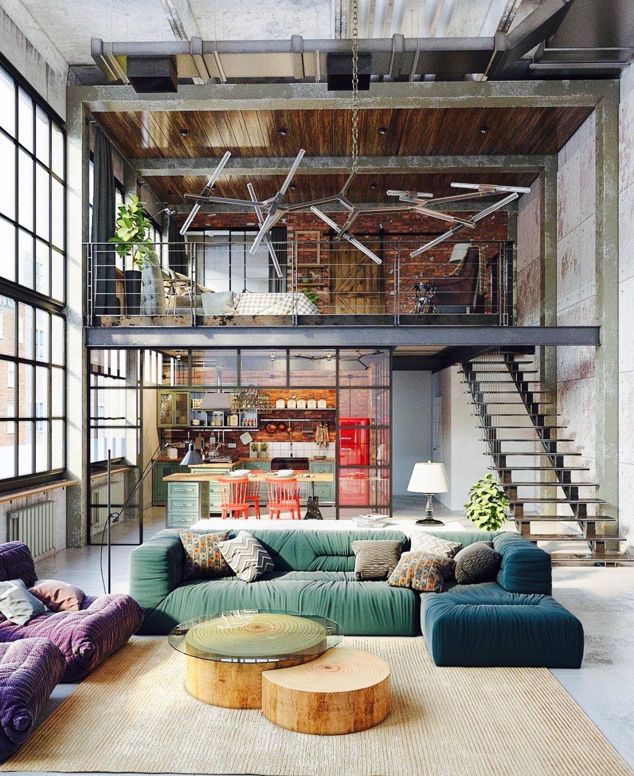 Nyc Loft House Design Loft Living Loft Design