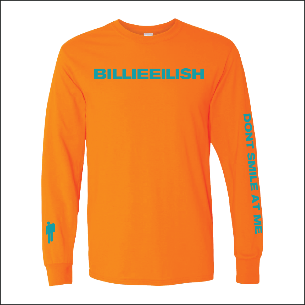 6accfdb5dc4 billieeilish.limitedrun.com products 612164-orange-long-sleeve-shirt ...