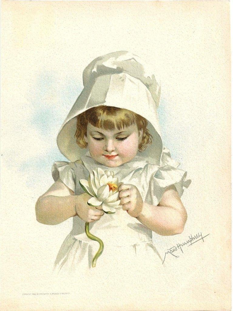 Maud Humphrey (1868-1940)    –  Children ,1888    (768x1024)