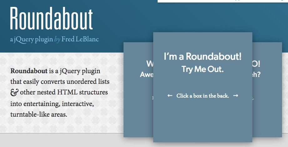 Roundabout is a great jQuery plugin that gives you a 3D rotating