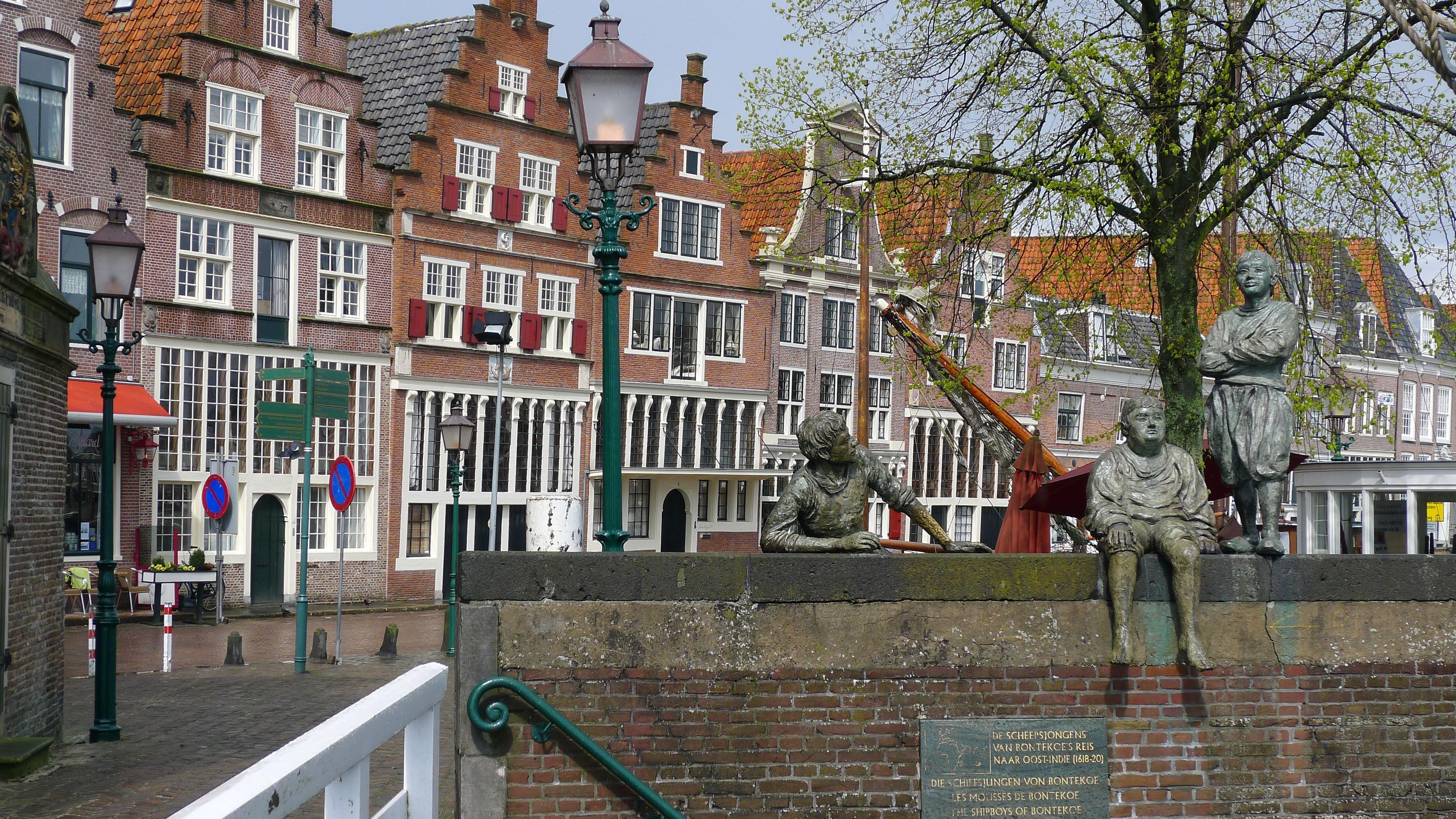 De scheepsjongens van Bontekoe in Hoorn, the Netherlands