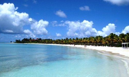 Jumby Bay Is One Of 365 Beaches Antigua