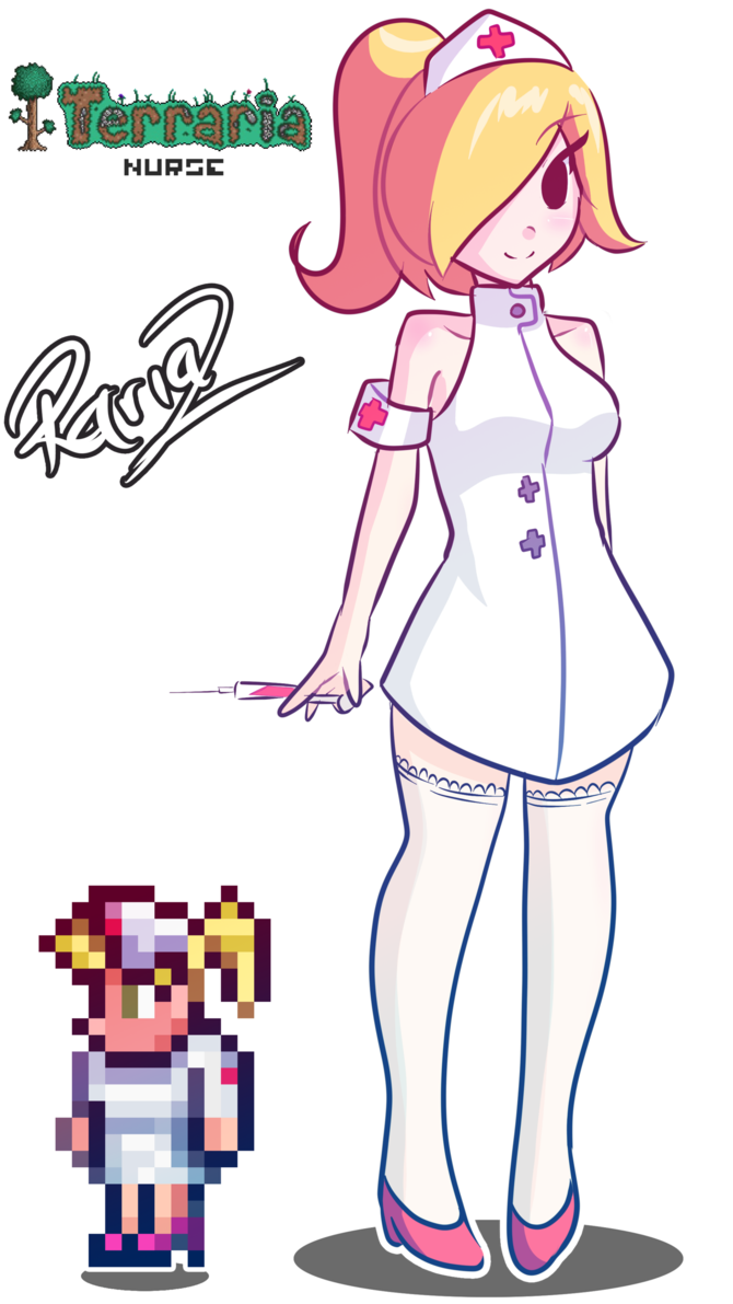 Nurse Terraria by Rariaz on DeviantArt | I'm Sorry, but my