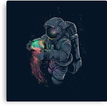 Jellyspace Canvas Print