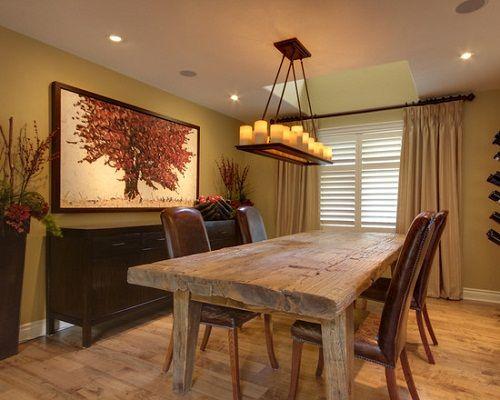 Stunning Farm Table Dining Room Set Gallery   Liltigertoo.com .