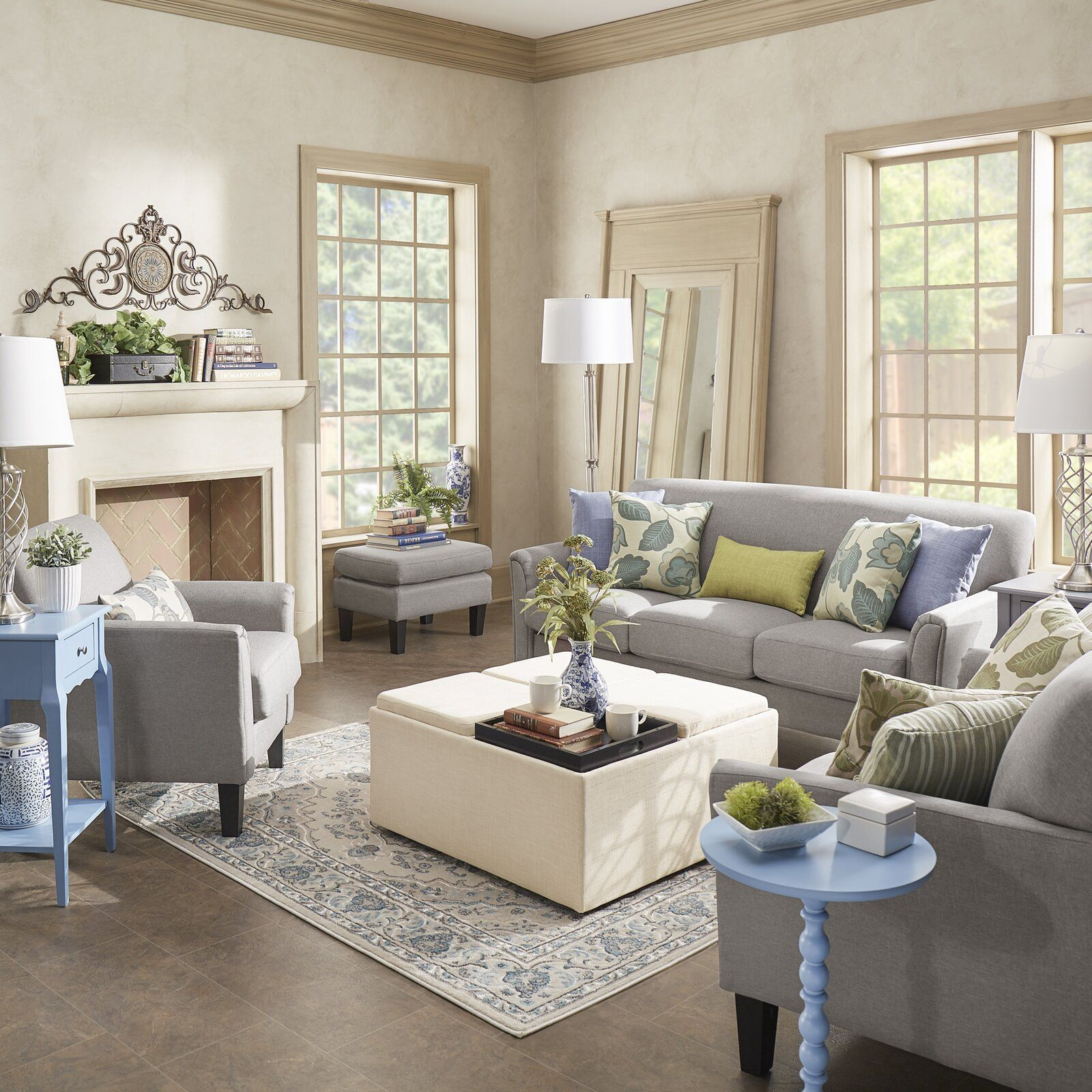 Three Posts Forsan Configurable Living Room Set Wayfair