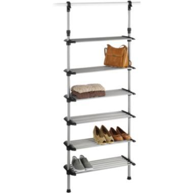 Sophisticate 6 Shelf Hanging Closet Shoe Rack Found At Jcpenney