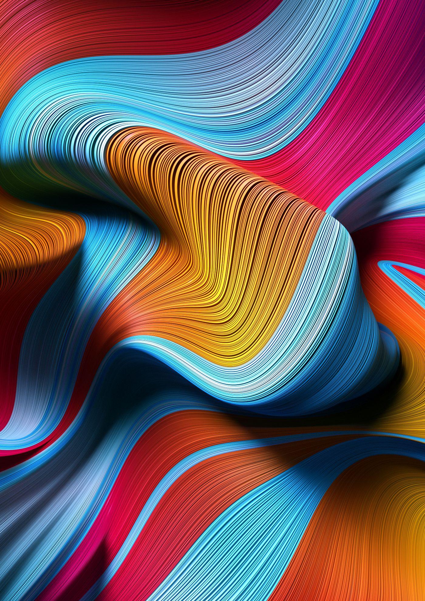 Danny Ivan 3D IMAGERY MAKER Gradient Flow Lines in