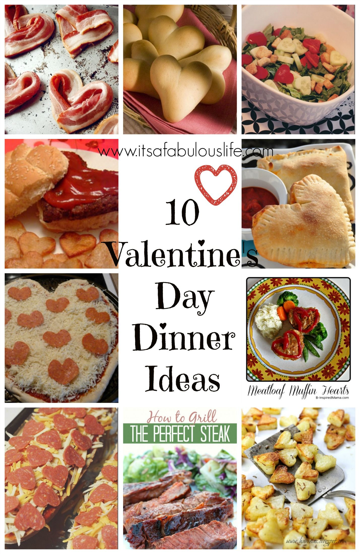 10 Valentine S Day Dinner Ideas Valentine Time Pinterest