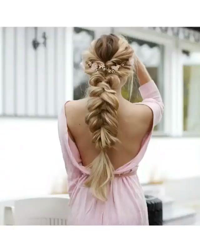 Mach es selbst! Schnelle und einfache Tutorials für langes Haar #easyhair