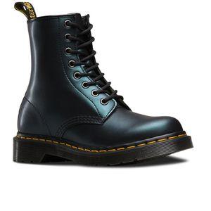 dr martens women 39 s 1460 lace up boots green tracer mon style dr martens bottes doc. Black Bedroom Furniture Sets. Home Design Ideas