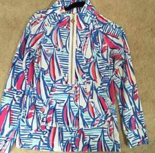 Lilly Pulitzer RRR red Right Return Popover HTF Print