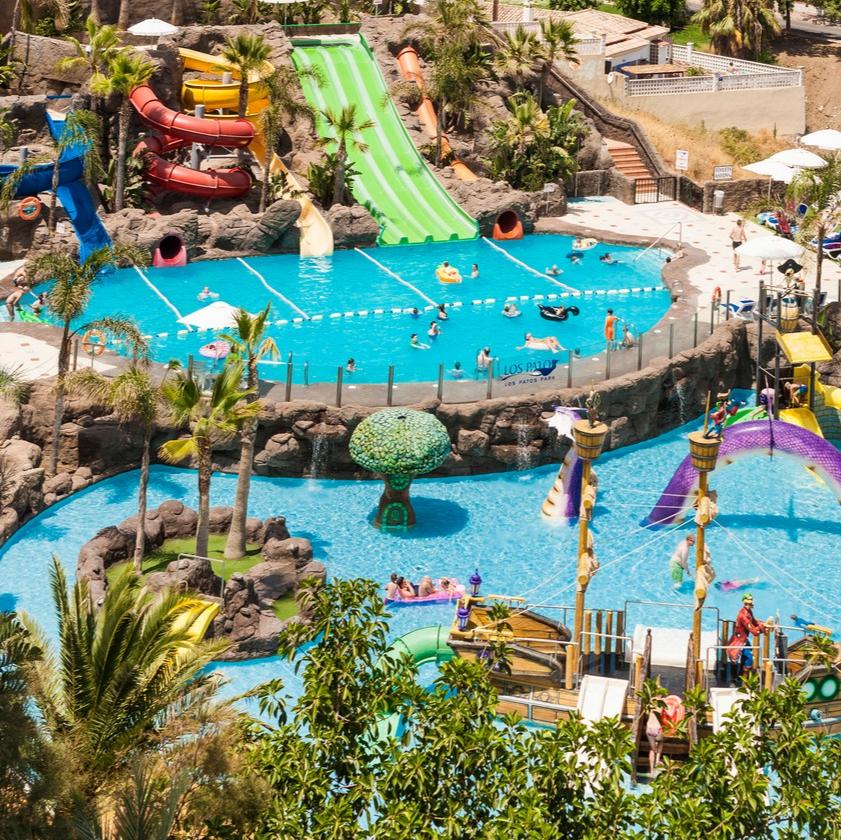 Piscinas De Nuestro Hotel En Málaga Globales Los Patos Park Pools At Our Hotel In Malaga Globales Los Patos Park Hoteles Para Niños Hoteles Parque Acuatico