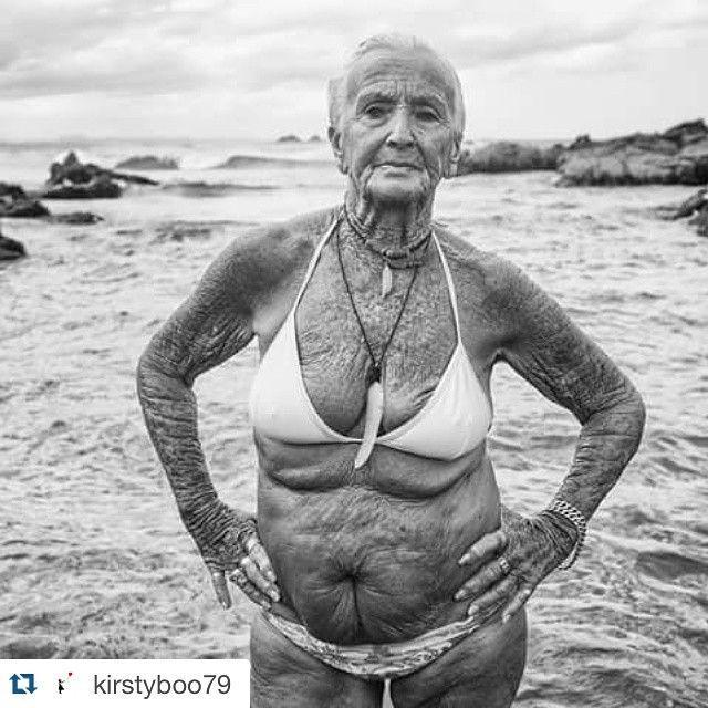 Oldwe chubby woman