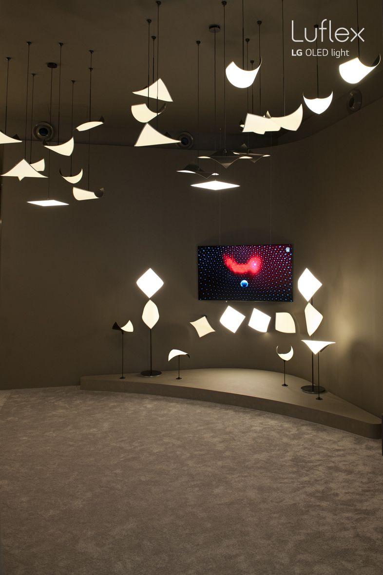 Luflex Lg Oled Display Lighting Light Eye Comfort Flexible Solution Crystal Sound Oled Cso