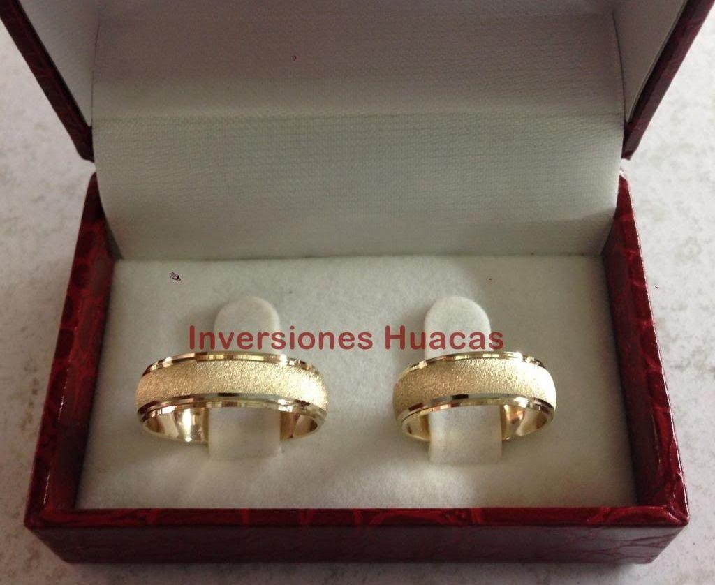 45454c4cc4b0 Argollas De Matrimonio Alianzas Aros De Boda Oro 18 Kilates - Bs. 560.000