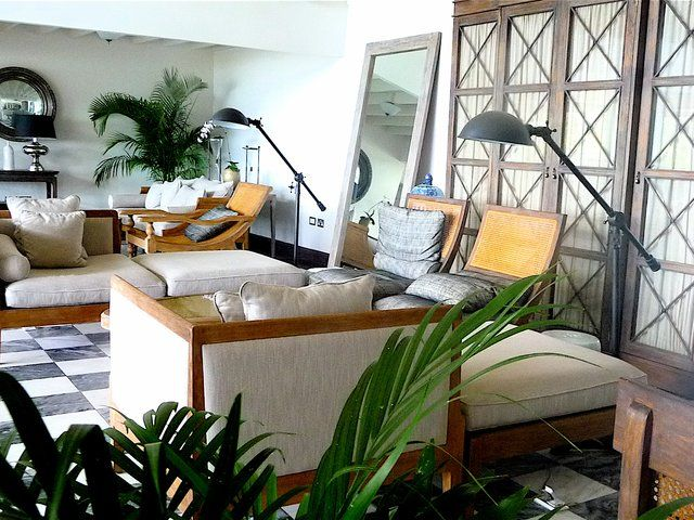 magnificent tropical living room interior design with white | Tropical Interiors - Yahoo Image Search results | Tropical ...