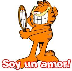 Imagenes bellas de Garfield con Frases de amor  Imagenes de Amor