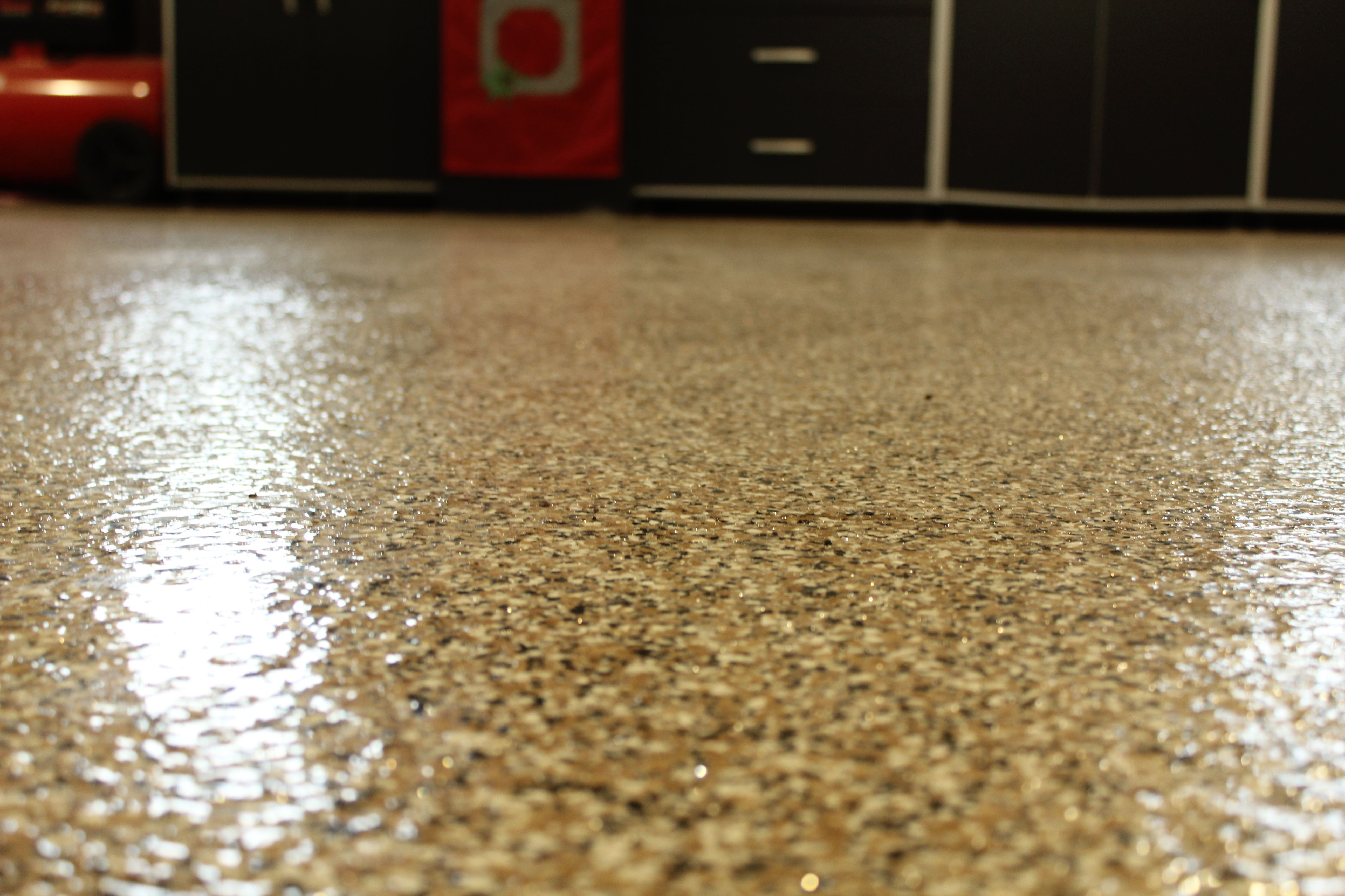 Tremendous Epoxy Coated Floor By Dancer Concrete Design Epoxy Home Remodeling Inspirations Cosmcuboardxyz