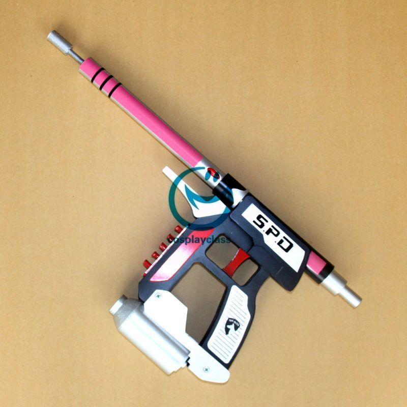mighty morphin power rangers spd pink cosplay weapon prop