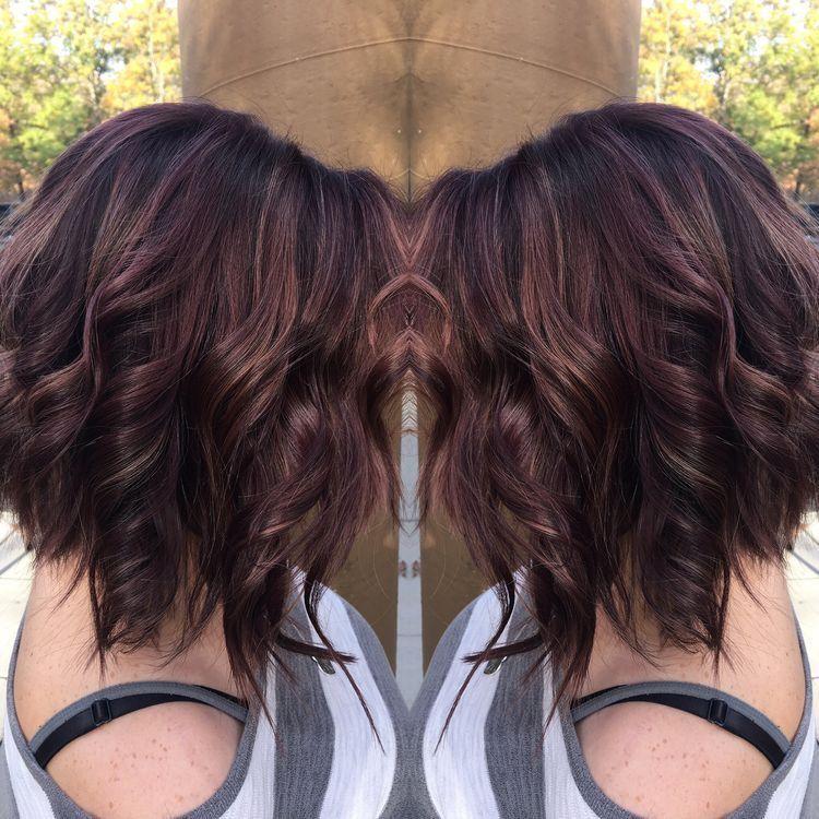 Épinglé par Mode coiffure sur Coiffure chocolat | Cheveux framboise, Cheveux, Coupe de cheveux