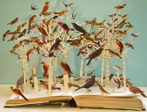 Su Blackwell:  Birds of the Open Forest