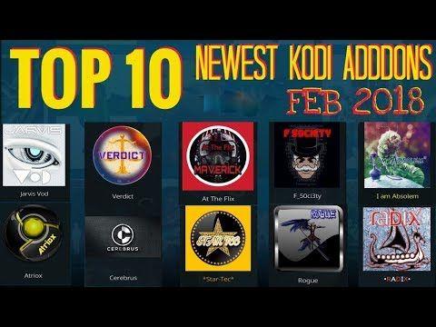 TOP 10 KODI ADDONS FEBRUARY 2018 YouTube Kodi live tv