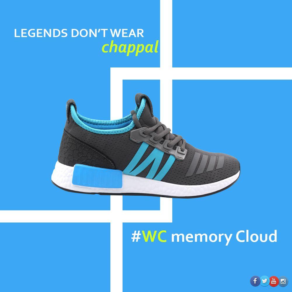 #Legends Dont wear chappal. Wear Memory Cloud This winter. #vandeu . #like