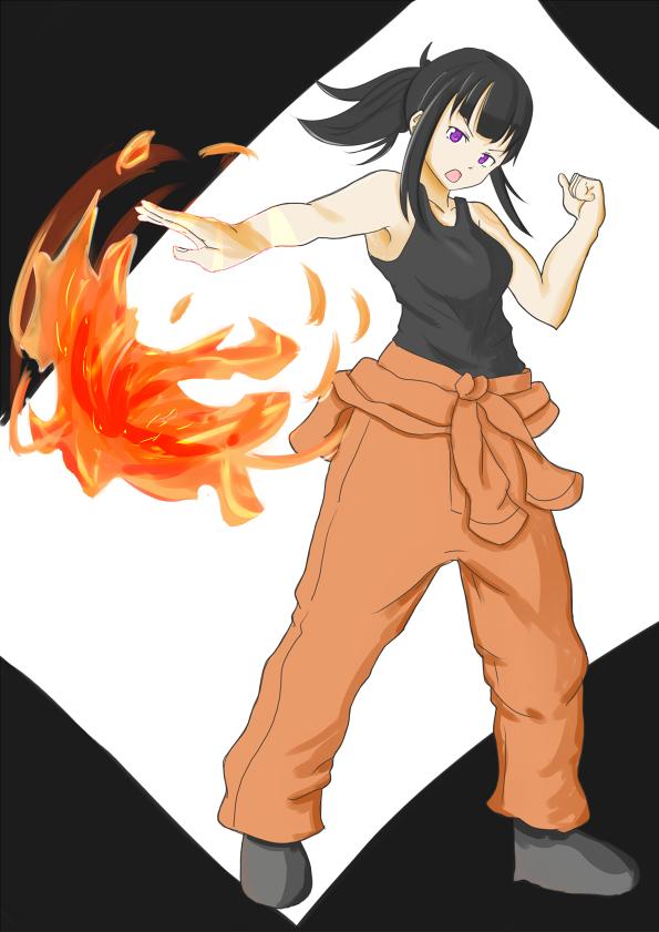 Maki Oze 🔥💧😈💧🔥 Enen no Shouboutai FireForce Follow me