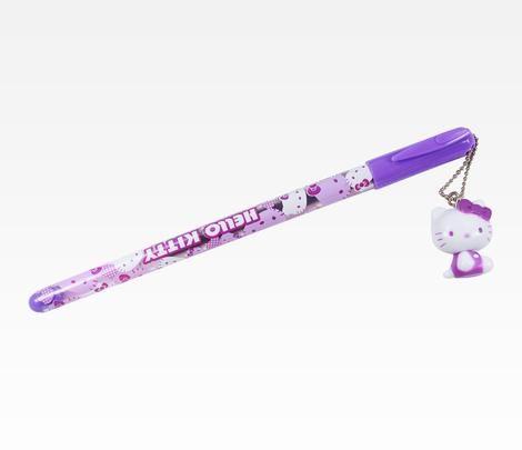 Hello Kitty Purple Gel Mascot Pen: Colors