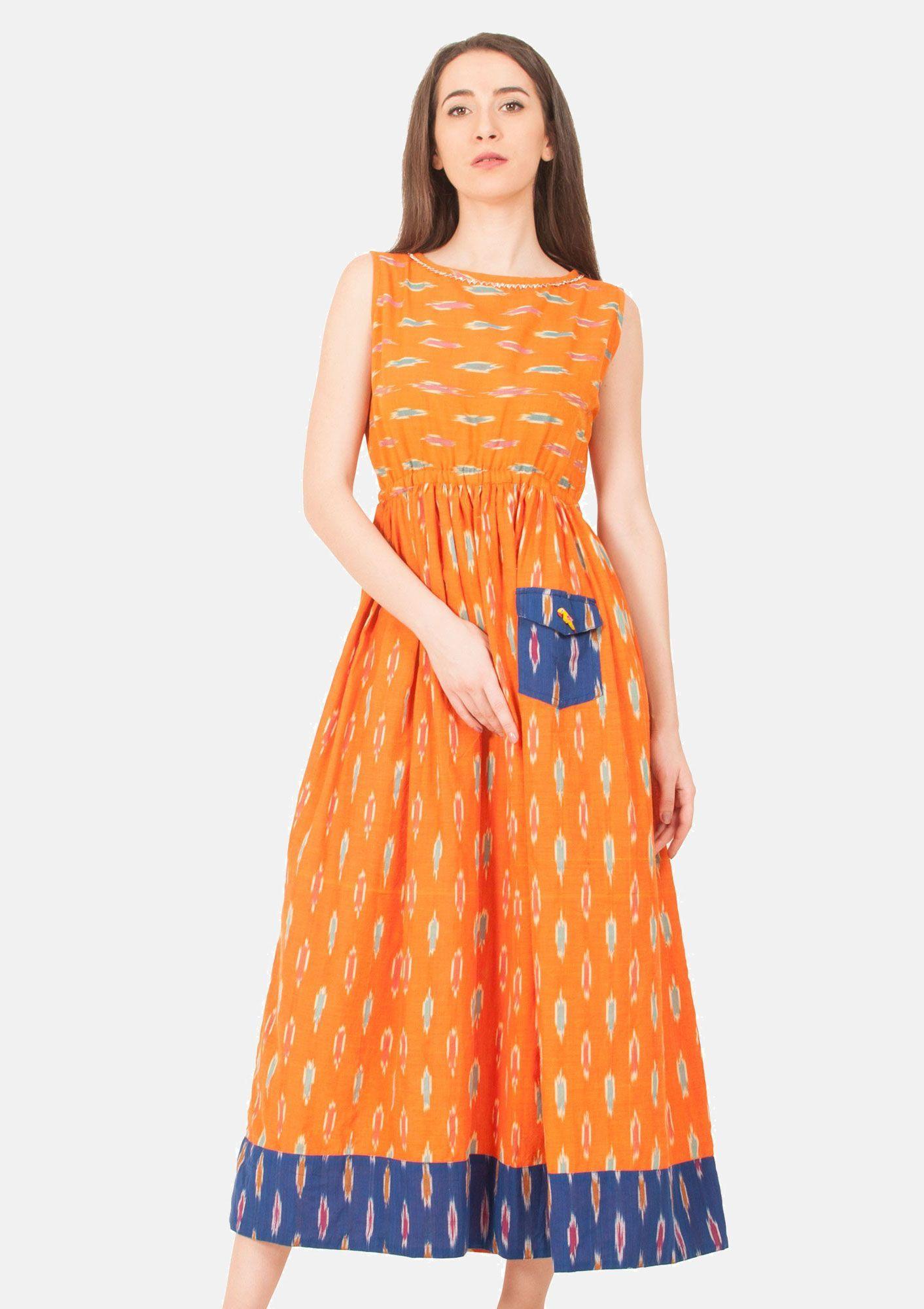 Handwoven long ikat dress tunic and dresses FL KINUDRESS This Ikat ... for Ikat Fabric Dress  584dqh