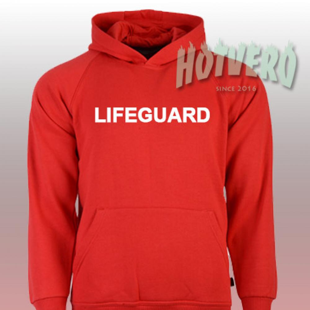 e5a5c0150cac Lifeguard Beach Graphic Hoodie | Urban Clothing - Hotvero ...