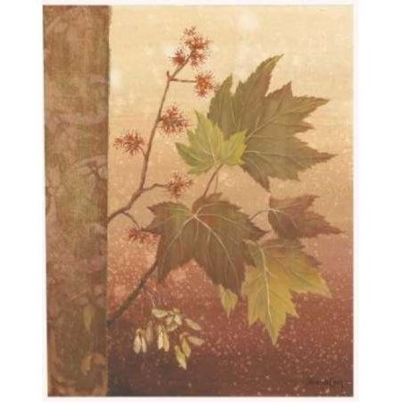 Posterazzi Maple Leaves Canvas Art - Jillian Jeffrey (24 x 30)