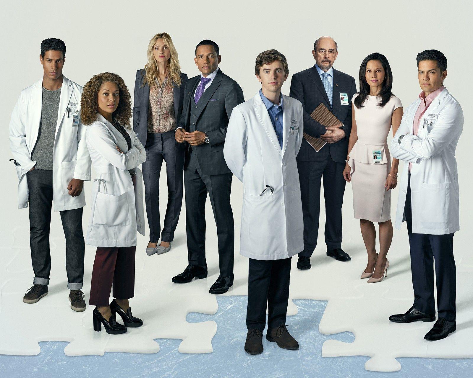 Personagens Da Serie The Good Doctor Foto Divulgacao Abc