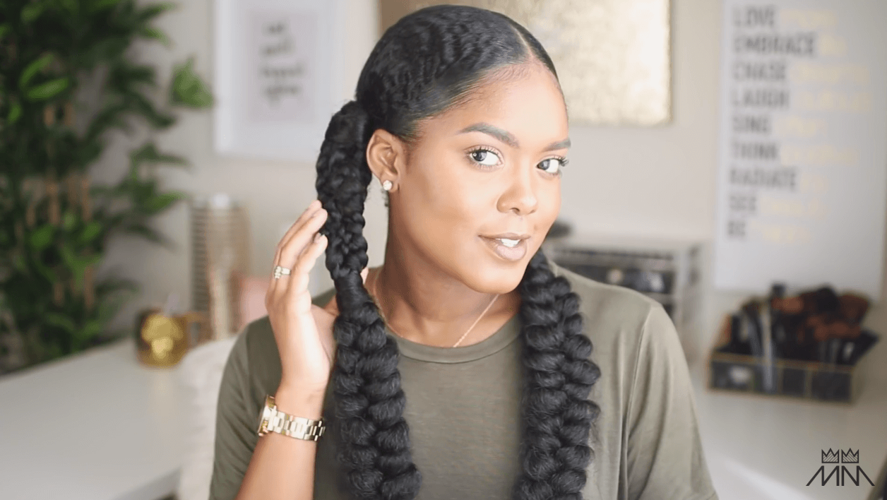 Tutorial Mini Marley Nyfw Fishtail Inspired Braided Hairstyle All