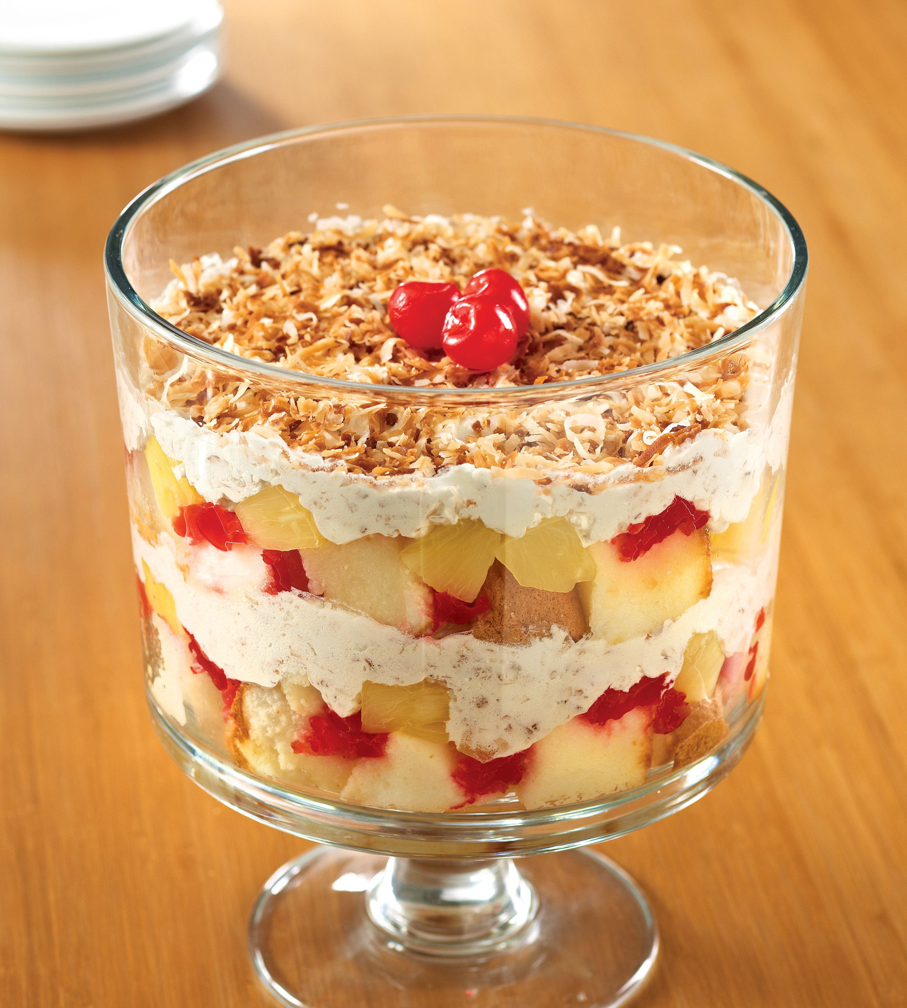 Brownie Mocha Trifle Recipe: Chocolate Banana Trifle Pampered Chef