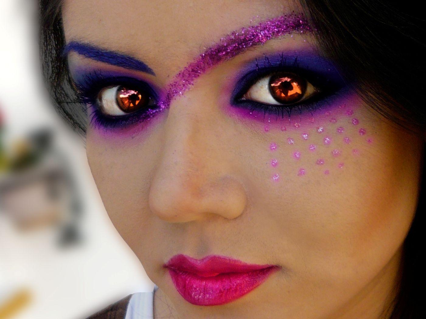 Fantasy make up maquillaje de fantasia gabriela zehavi model