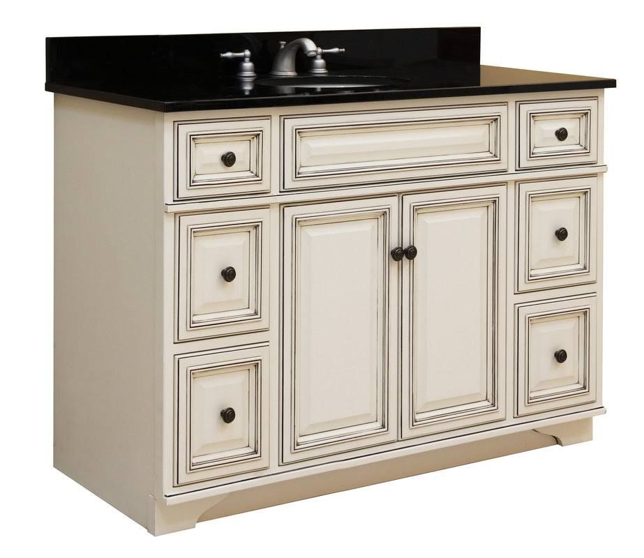 Sunny Wood Sl4821d Sanibel 48 Maple Wood Vanity Cabinet Only Glazed Bathroom Vanity Base Wood Vanity Wood