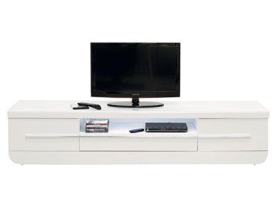 Meuble TV FLOYD coloris blanc code article