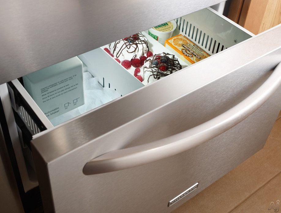 Kitchenaid kddc24cvs 24 builtin double drawer