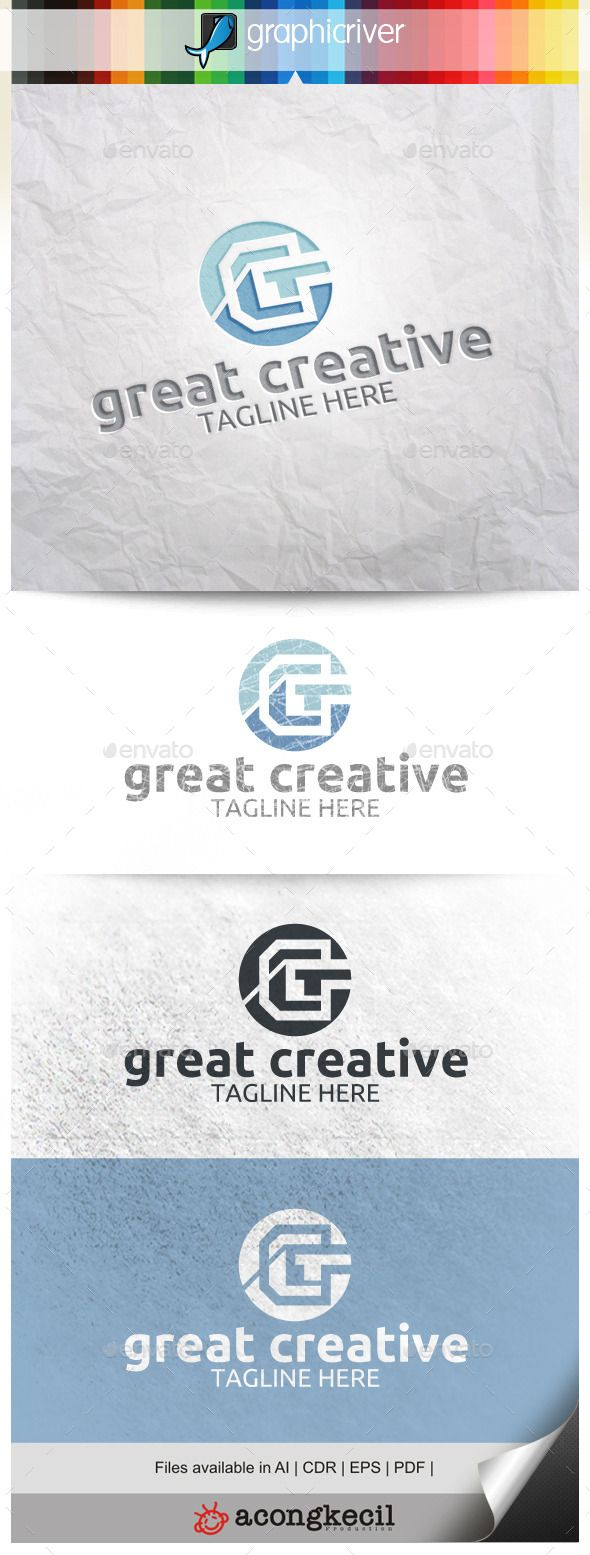 Great Creative V.2 — Vector EPS #brand #unique • Available here → https://graphicriver.net/item/great-creative-v2-/9959236?ref=pxcr