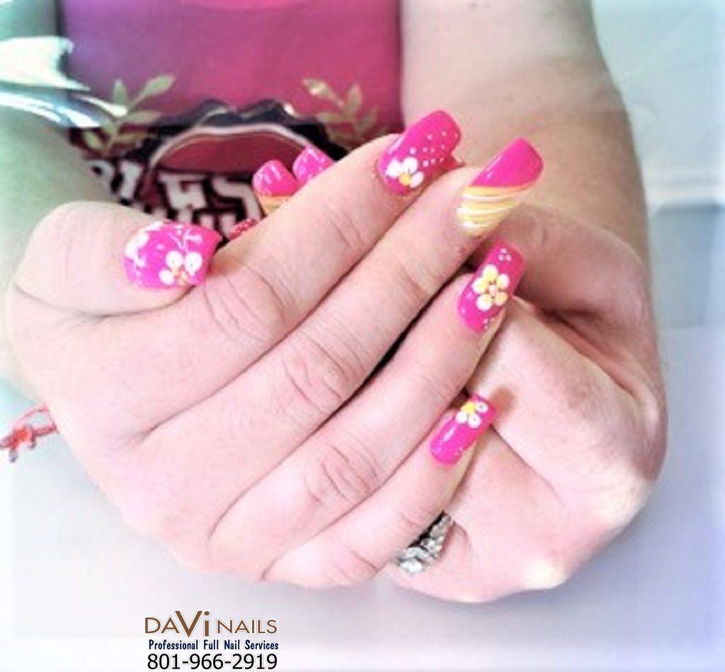 Nail Salon 84118 Da Vi Nails West Valley City Utah 84118 Spa Manicure Solar Nails Nails