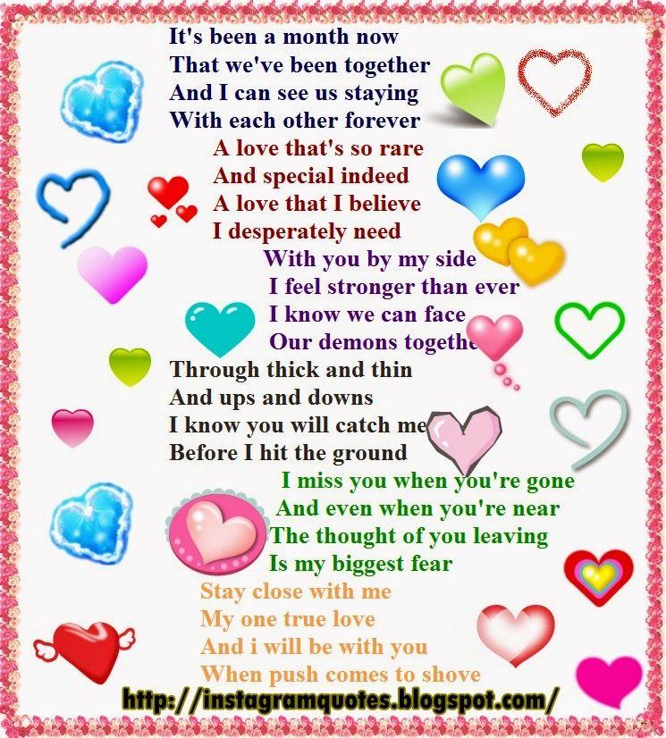 Happy Anniversary Baby Poems