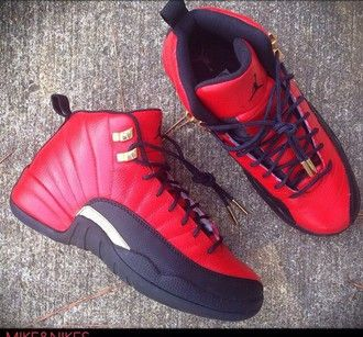sports shoes 49d53 4d6b2 shoes omg i need these so bad jordans style glo gang red shoes
