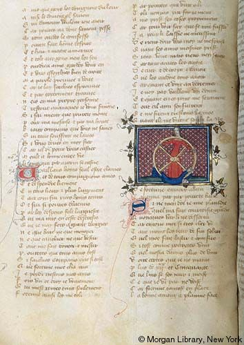 Roman de la Rose, MS G.32 fol. 59v - Images from Medieval and Renaissance Manuscripts - The Morgan Library & Museum
