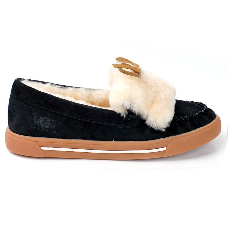 UGG Women Australia Flat Shoes 1872 Black