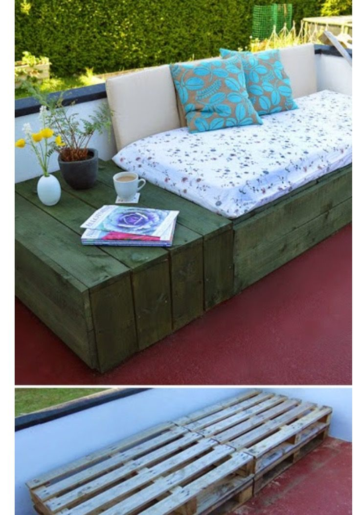 for guest room pallet furniture outdoor patio daybed on fantastic repurposed furniture projects ideas in time for father s day id=51681